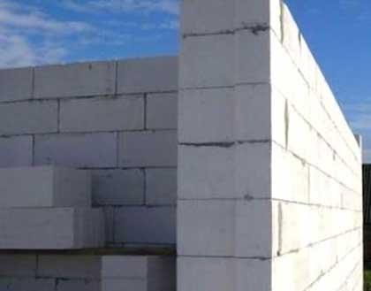 Стены из легкого бетона