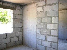 Стены из пеноблока в вашей квартире