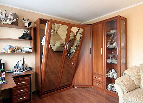 Шкаф-кровать в вашем интерьере