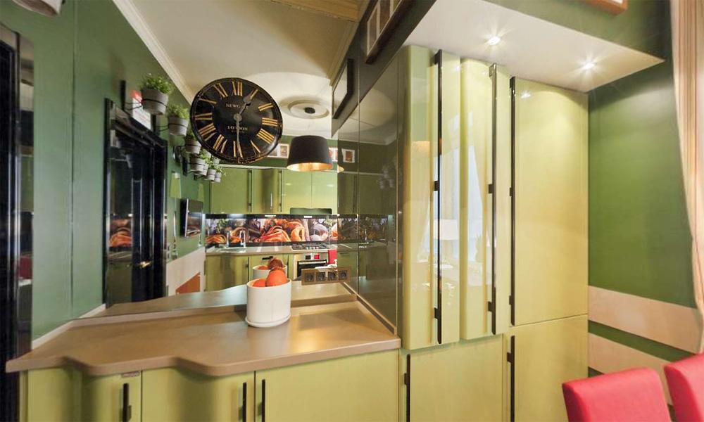 Цветовые оттенки для кухонного интерьера