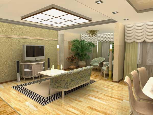 Оформляем однокомнатную квартиру улучшенной планировки