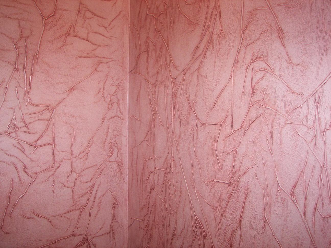 Эффект мятой кожи на стене своими руками 1
