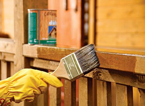 Защита древесины от возгорания, гниения и насекомых-вредителей