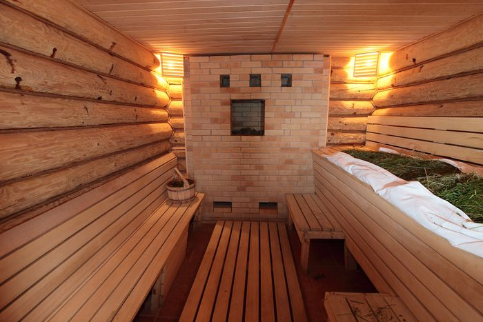 Атмосфера и интерьер бани