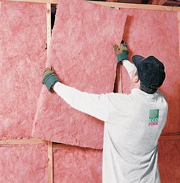 Утепление наружных стен помещений