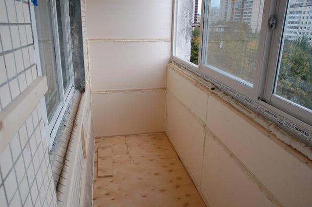 Как сделать теплоизоляцию балкона своими руками