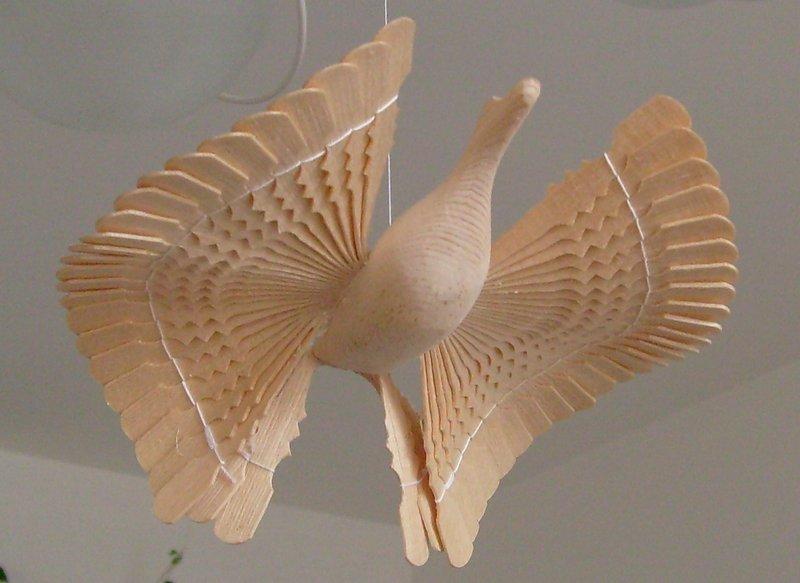Птица счастья - делаем игрушку сами