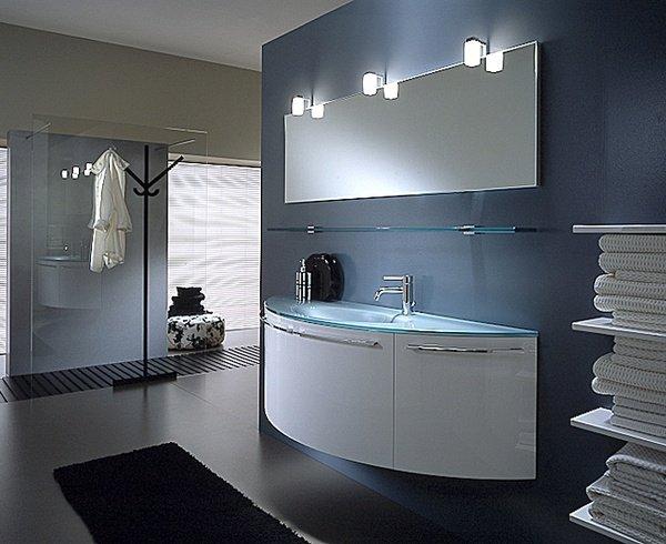 Современный дизайн мебели в ванную комнату