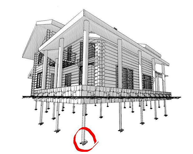 Винтовые сваи с литым наконечником – надежный фундамент вашего дома