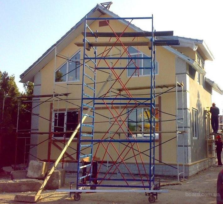 Штукатурим фасад дома из кирпича или бетона своими руками