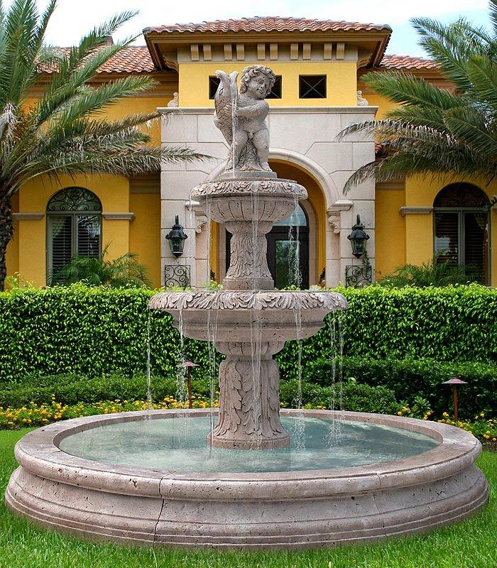 Создаем стильный фонтан своими руками