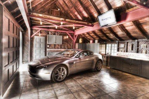 Дизайн интерьера гаража своими руками