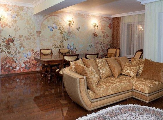 Модульное панно – как способ декорирования стен и потолка