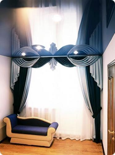 Как выбрать натяжной потолок для коридора