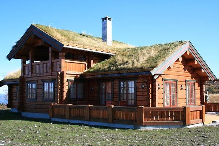 Деревянные дома из лафета лиственницы