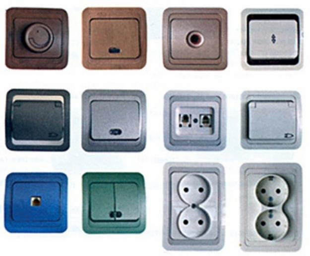 Какие выбрать розетки и выключатели для квартиры?