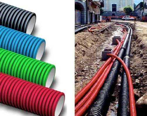 Какие трубы выбрать для прокладки кабеля?