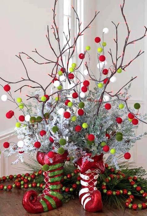 Украшаем дом к Новому году. Идеи декора.
