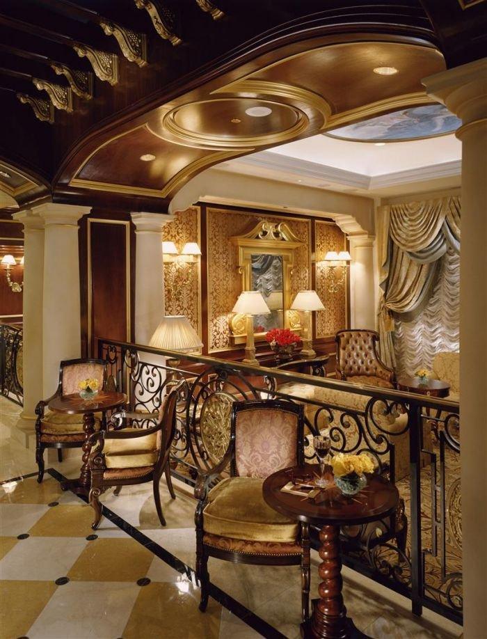 Золото Венеции – венецианский стиль интерьера