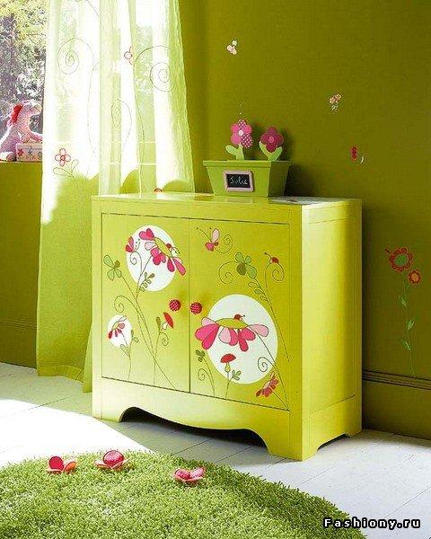 Декорируем деревянную мебель