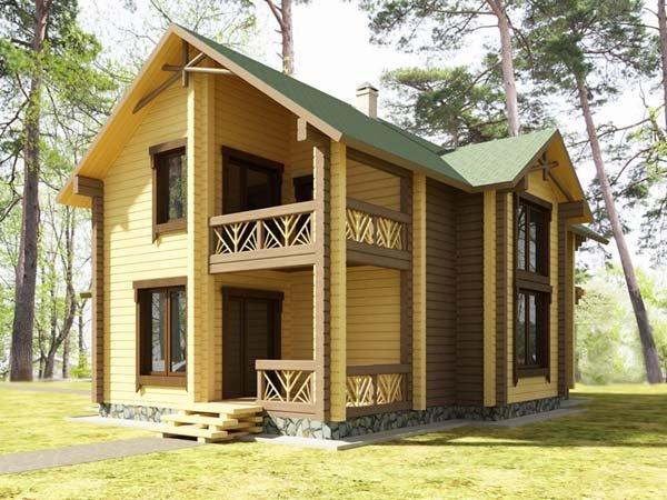 Экономим на строительстве дома из клееного бруса