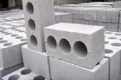 Шлакобетонные стены и блоки