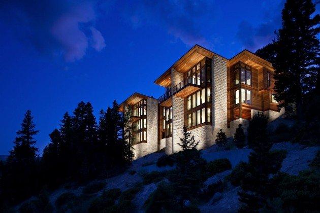 Строим дом в горах. Особенности обустройства и строительства.