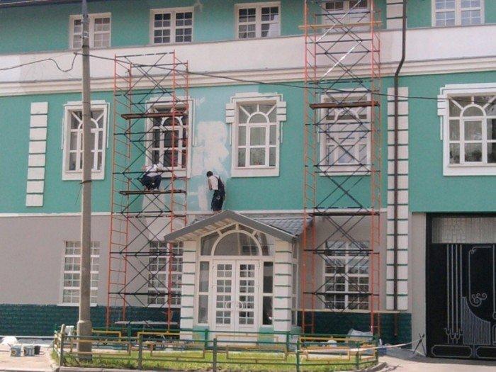 Фасадные работы: виды, этапы проведения