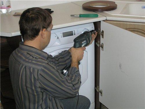 Самостоятельное подсоединение стиральной машины