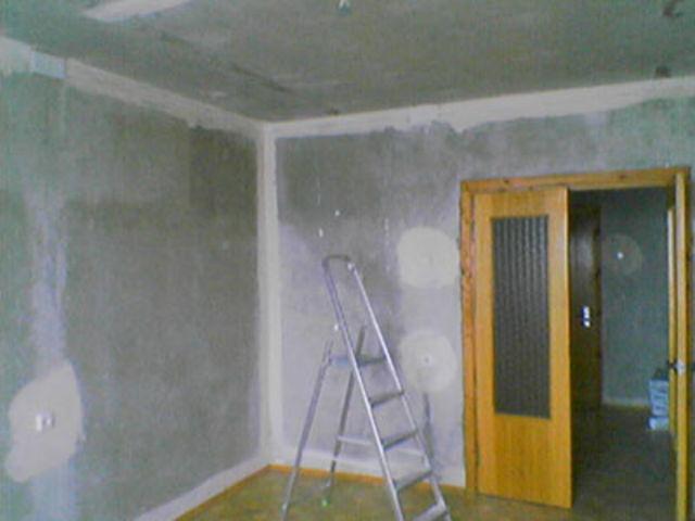 Как убрать известку со стен и потолков?