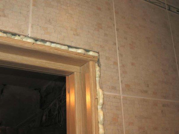 Убираем старую дверную конструкцию
