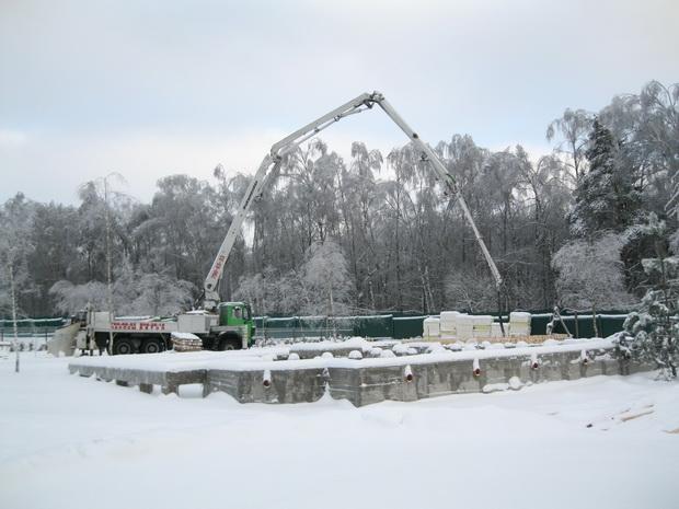 Особенности проведения зимних строительных работ