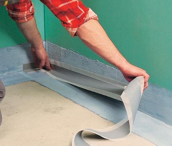 Как произвести гидроизоляцию в ванной комнате?