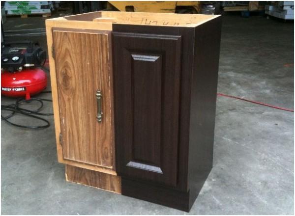 Красим старый шкаф