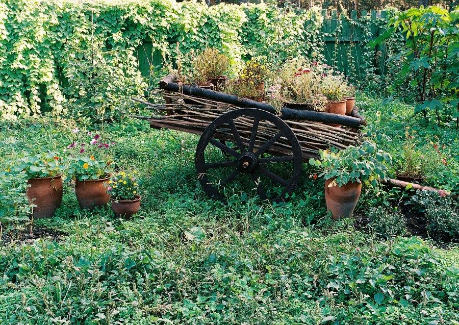 Оформление сада. Кантри стиль