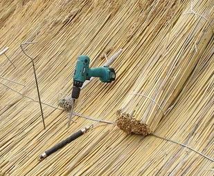 Плюсы и минусы крыши из камыша