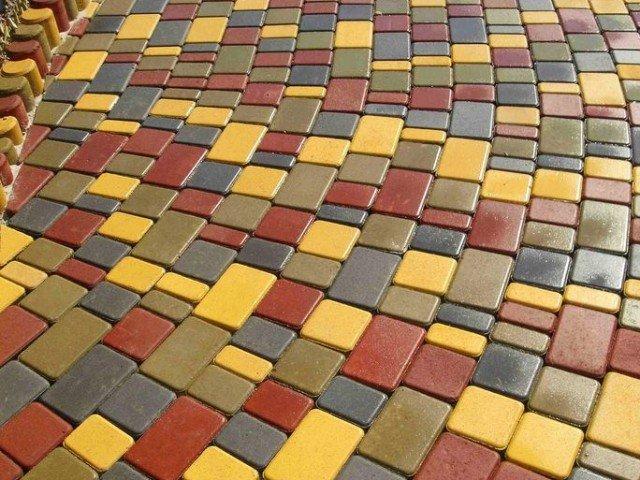 О выборе тротуарной плитки