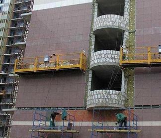 Главные преимущества современных люлек строительных от фирмы Malte перед обычными лесами строительными