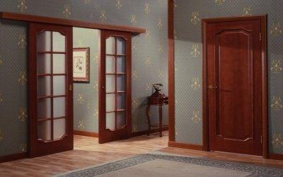 Выбор шпонированных межкомнатных дверей