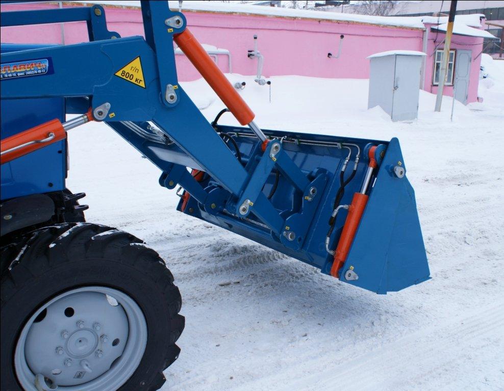 Использование тракторов МТЗ в строительстве