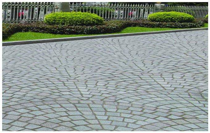 Выбор гранитной плитки для улицы