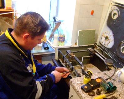 Все о ремонте газовых плит