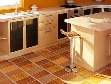 Плитка керамическая в кухню на стены и пол