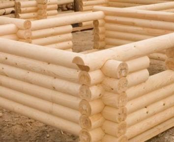 Достоинства домов из древесины