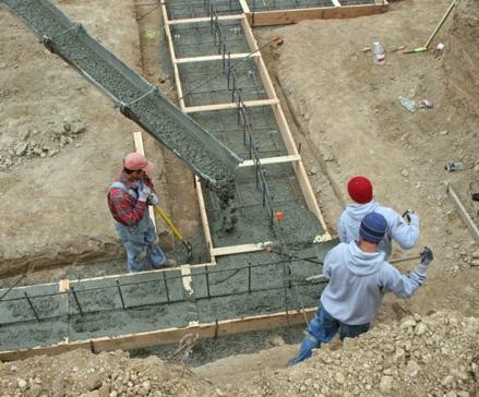 Правильный выбранный бетон – залог качественного дома