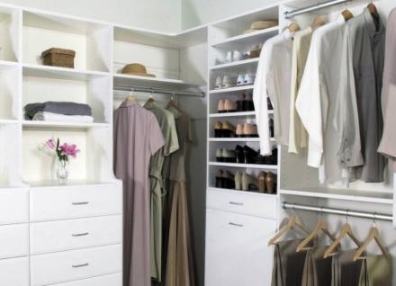 Удобна гардеробная комната (система): разнообразие идей