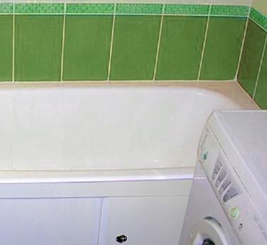 Ремонт малогабаритной ванной своими руками