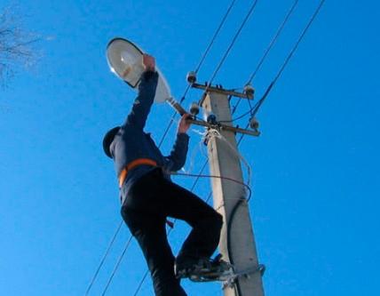 Правила установки уличных светильников