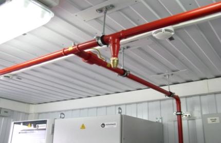 Проектирование ПС и систем пожаротушения