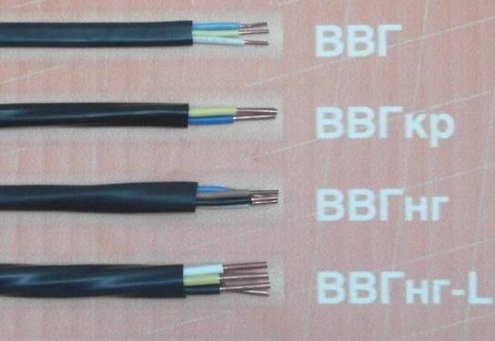 Виды проводов и кабелей
